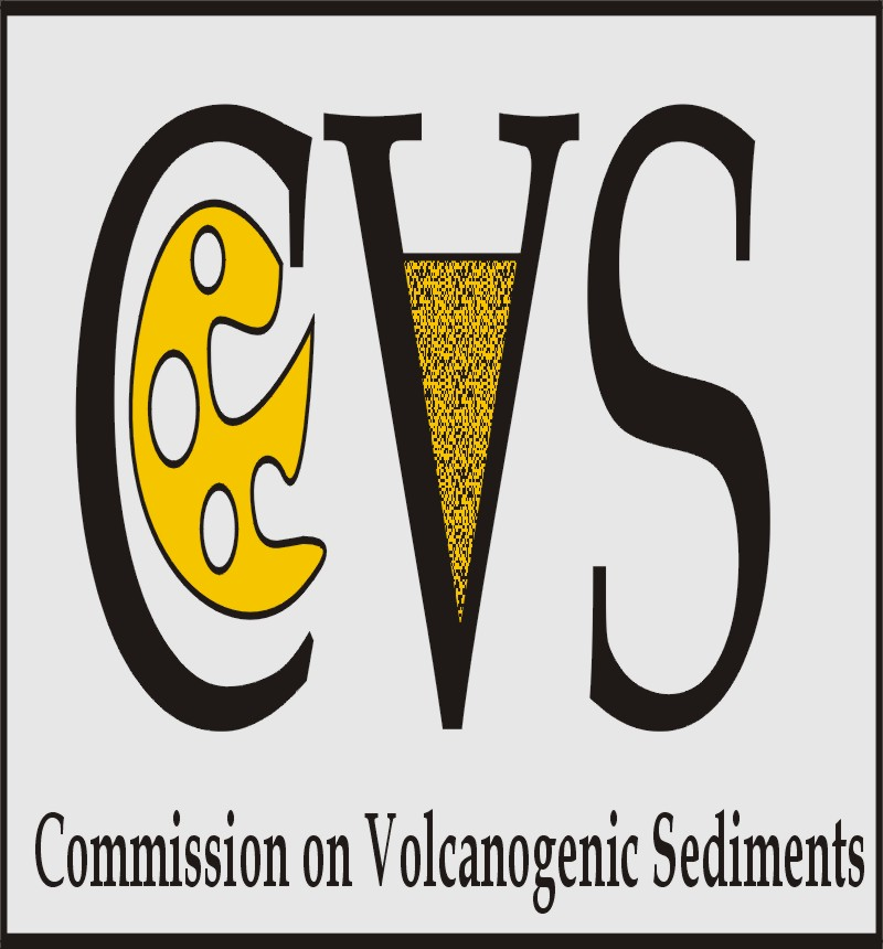 IAVCEI Commission on Volcanogenic Sediments Logo